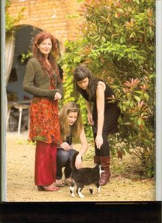 Kaat Tilley and daughters