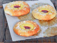 Brioche pastry cream - Coca de Sant Joan version mini