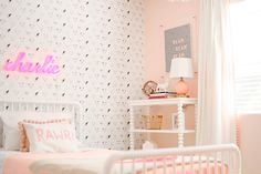 bright & bold: Charlie's Big Girl Room Reveal.