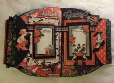 Graphic 45 Couture purse mini album - Anne Rostad