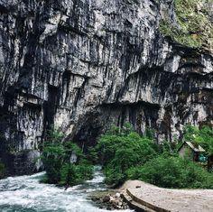 Приятно вспомнить это путешествие #abkhazia4crimeans 💙 невероятные места..) Юпшарский Каньон