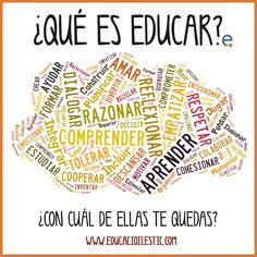 ¿Qué es educar?/ Zer da hezitzea zuretzat? #Lauaxetaikastola #educación
