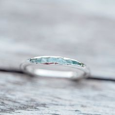 Aquamarine Ring // Hidden Gems - Gardens of the Sun Jewelry