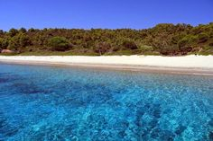 Tsougria island near in island of Skiathos Skiathos Island, Places To Travel, Places To Visit, Places In Greece, Exotic Beaches, Ocean Sounds, Greece Islands, Beaches In The World, Most Beautiful Beaches
