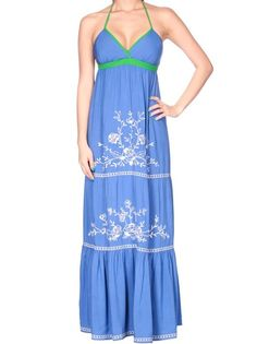 Flying Tomato Embroidered Maxi - $48.00