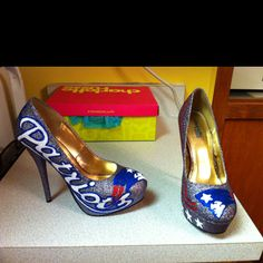 I don't care what yall say lol... I need some custom Pats heels! #NewEngland #Patriots #Pats