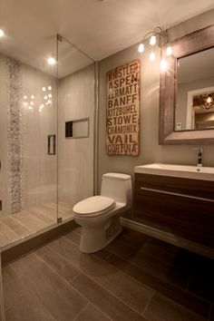 Bathroom Basement Design Ideas, Pictures, Remodel, and Decor - page 28