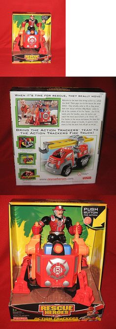 Rescue Heroes 50307: 2005 Rescue Heroes Action Trackers Jake Justice Police Patroller Figure New Htf -> BUY IT NOW ONLY: $76.67 on eBay!