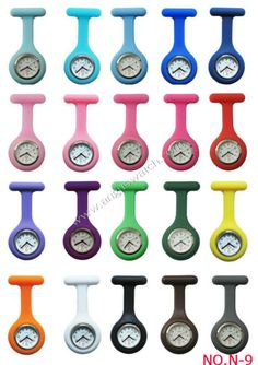 2013 fob watches for nursesn,gel watches for nursing