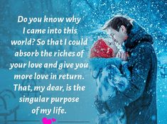 Romantic Love You Messages For Him: Love is that feeling in which a person never feels alone. He eagerly waits to see his Love Messages For Husband, Love You Messages, Love Message For Him, Romantic Love Messages, Messages For Him, Love Quotes For Her, Husband Quotes, Purpose Quotes, My Feelings For You