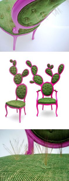 Cactus Chairs Designed By Valentina Gonzalez Wohlers