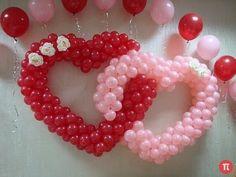 ▶ Heart Balloons - Wedding decorations - YouTube