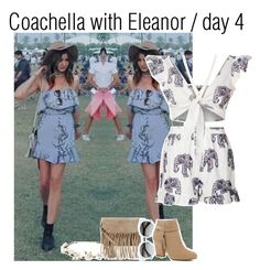 """""""Coachella with Eleanor / day 4"""" by lucybitch ❤ liked on Polyvore featuring Missguided, Cult Gaia, LC Lauren Conrad, Accessorize and River Island"""