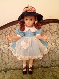 "Vintage Rare 21"" Madame Alexander Margaret O'Brien Composition Doll"
