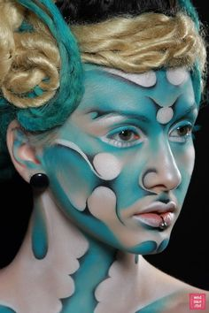 """Beauty for Life"" Makeup Art by Sandu Iuliana  