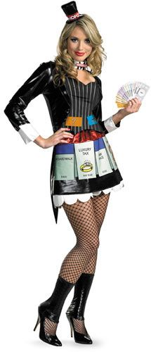 Disfraz Monopoly. Mujer