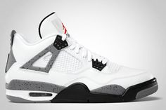 low priced d0d51 88710 Air Jordan 4 White Cement