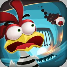 ChickenBreak is an endless running game where players take control of a chicken & guide it in an attempt to escape from the maximum security prison where it is being held captive. Falling bombs, homing missiles, traps, pits, swinging saws, giant spiked balls, and so many other dangers all wait to stop the chicken from escaping. It's up to the player to help the chicken jump, duck, slide & otherwise avoid all these contraptions. Download at: https://itunes.apple.com/app/id503793862