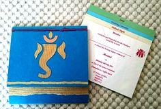 Handmade ethical wedding invitations - info@arushi.co.uk