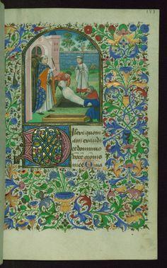 Book of Hours, Burial service, Walters Manuscript W.220, fol. 187r by Walters Art Museum Illuminated Manuscripts http://flic.kr/p/Avk3Ch