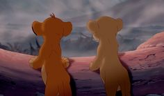 The Lion King Simba and Nala Simba Et Nala, Lion King Timon, Disney Lion King, Disney Films, Disney Characters, Lion King Pictures, Lion King Quotes, Young Simba, The Lion King 1994