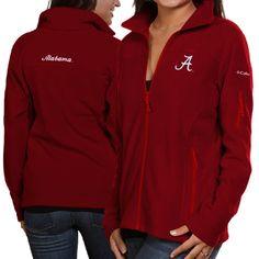Women's Columbia Crimson Alabama Crimson Tide Give & Go Full-Zip Jacket