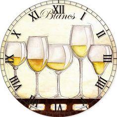 View album on Yandex. Clock Printable, Printable Designs, Printables, Paper Clock, Face Template, Handmade Clocks, Chanel Art, Wine Art, Vintage Paper