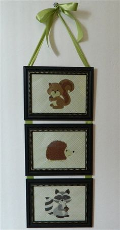 Kids Room Nursery Woodland Animal Squirrel by BirdieGirlsTreasures, $15.99