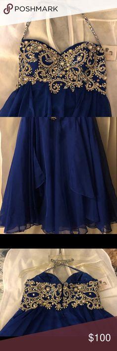 Prom dress Sherri hill prom dress. Size 8. Royal blue Sherri Hill Dresses Prom