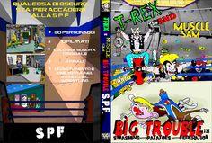 T-REX  and Muscle Sam DVD by WarioPunk.deviantart.com on @deviantART
