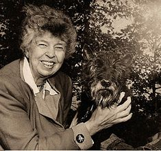 """Eleanor Roosevelt - Inspiring Women - """"Do one thing every day that scares you."""" – Eleanor Roosevelt (First Lady of The US , 1933 – Roosevelt Family, Franklin Roosevelt, Roosevelt Quotes, First Ladies, Franklin Delano, My Champion, Anatole France, American Presidents, Animals"""