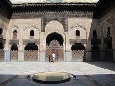 Fez, Bu Inaniya Madrasa, 1355, Morocco