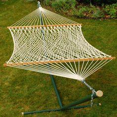 Algoma White Hammock Nylon White Rope Chain
