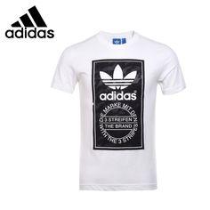 Original de la nueva llegada 2016 Adidas Originals hombres de las camisetas  de manga corta de deporte envío libre 7593c5e6738