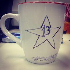 Inevitável! Feliz sexta-feira 13 #café #estrela #lula #cafeina #sexta13 #13 #jason #mst #pt #psdb #pmdb #politico