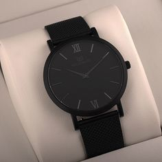 Black Matt. Find out more at waldorwatches.com. #waldorwatches