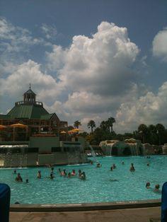 World Resort Marriott Orlando Fl. best pool ever