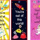 I love Valentine's Day so I'm spreading some love…you get a FREEBIE!  FREE, super cute, PRINT & GO Valentine's Day Bookmarks in a space theme. ...