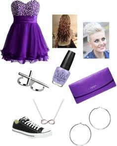"""My 8th grade dance idea"" by erika-rhinehardt ❤ liked on Polyvore"