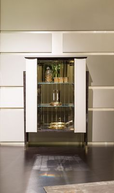 Noir Collection www.turri.it Italian design bar unit