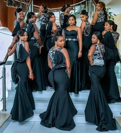 Beautiful queens 👸🏽 👸🏽 👸🏽 ⠀⠀ Planner Bridesmaids dresses Bridal stylist Makeup once Photography African Bridesmaid Dresses, African Wedding Attire, African Lace Dresses, Mermaid Bridesmaid Dresses, Latest African Fashion Dresses, Bridal Dresses, African Weddings, Nigerian Weddings, Nigerian Fashion