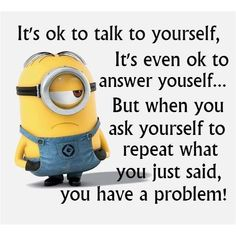 OMG yes! Minion Laughs and Wisdom ❤ liked on Polyvore featuring pictures