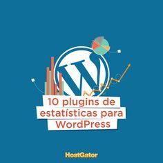 Quer conhecer melhor os seus usuários e aumentar o tráfego do seu site ou blog? Venha conferir 10 plugins de estatísticas para #WordPress que preparamos no post do blog.