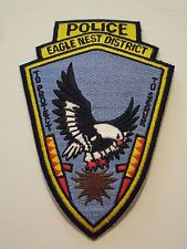 Eagle Nest District Police Patch South Dakota