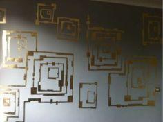 Pareti Doro : Decorazione pareti con foglia doro decorare pareti decorate