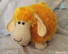owieczka szydelkiem i na drutach