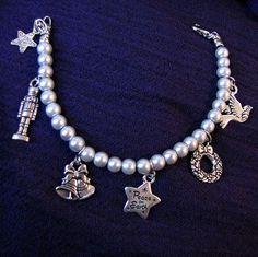 Silver Holiday Charm Bracelet  Item Number 5244 by PirateKatsBooty