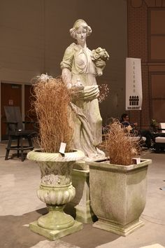 Flower Show, Buddha, Greek, Chicago, Statue, Navy, Flowers, Hale Navy, Old Navy