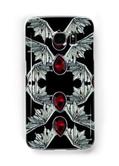 Gothic Blood Stone Bat Wings | Snap Cases,Tough Cases, & Skins for Galaxy S3-S4-S5-S6-S6 Edge-S6 Edge Plus-S7-S7Edge | iPhone 4s/4 5c/5s/5 6/6Plus SE/5s/5 & iPhone Wallets **All designs available for all models.