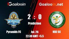 Pyramids FC VS NBE SC